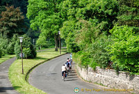Cycling in the Moselle Valley