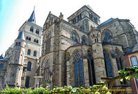 Liebfrauenkirche (Church of Our Lady) adjoins Trier Cathedral