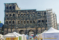 Porta Nigra is the largest Roman city gate north of the Alps