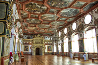 The Rittersaal at Schloss Weikersheim