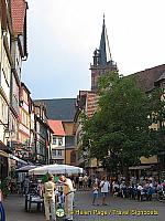 Wertheim city centre