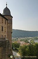 View of Wertheim Castle and the Main River