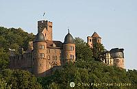 Wertheim Castle along the Main River