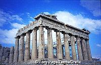 The Parthenon - dedicated to Goddess Athena