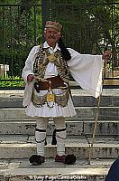 Self-appointed, but renowned,  Acropolis guard!