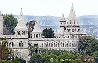 Budapest Castle Hill and the Fisherman's Bastion