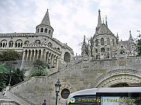 Fisherman's Bastion on Budapest Castle Hill