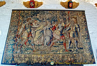 There are French, Brussels and Flemish tapestries