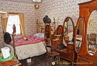 Main bedroom of The Golden Vale House
