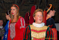 Medieval banquet singers