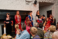 Medieval banquet entertainment