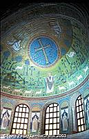 Sant Apollinare in Classe is about 5 kms from the town of Ravenna which is renowned for its superb Byzantine mosaics