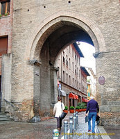 Torresotto Porta Nuova was the second of three fortified walls surrounding Bologna