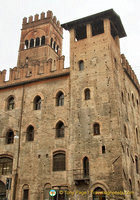 Towers of Palazzo Re Enzo