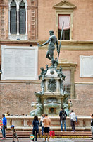 Neptune Fountain in Piazza Nettuno