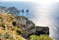 View across to Capri from Monte Solaro