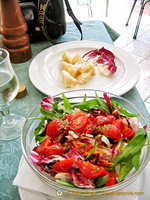 Great salads in Capri