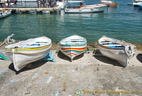 Boats at Marina Grande