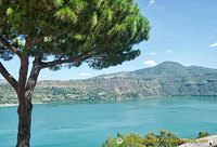 A last look at Lake Albano