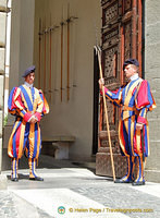 Papal Palace guards