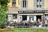 Bar Touring Caffe on Piazza Cavour