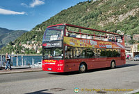 Como sightseeing bus