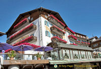 Hotel Ancora in the centre of Cortina d'Ampezzo