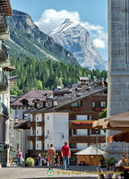 The mighty Dolomites surround Cortina d'Ampezzo