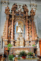 Altar-piece with the Virgin Mary flanked by Saints Filippo and Giacomo