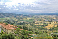 A typical Tuscan scenery