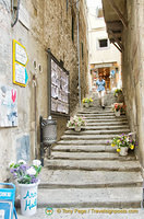 A pretty side street off via Nazionale