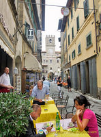 A cafe on via Nazionale
