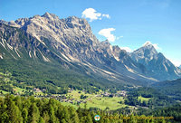Magnificent Dolomites view