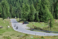 Motorcycling in the Dolomites
