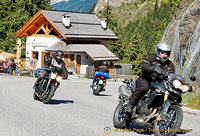 The Dolomites is popular with bike riders
