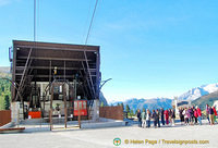 Lagazuoi cable car base station