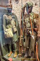 The museum has a collection of what wore during the war