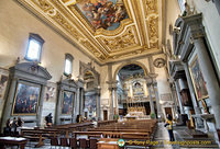 View of the Altar of Basilica San Marco