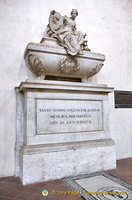 Tomb of Niccolo Machiavelli