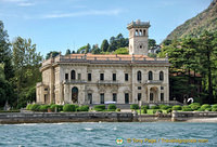 Villa Erba, once home of the Viscontis