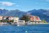 View of Baveno from the Lake