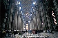 The Duomo is the largest Gothic church in the world