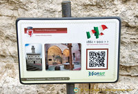 QR readers for Montepulciano attractions