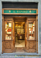 Il Papiro, a specialist stationery shop in Orvieto