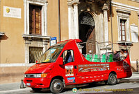 Perugia city tour bus