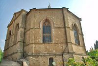 The apse of Pienza duomo