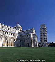 The Duomo and the Leaning Tower of Pisa