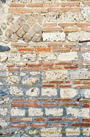 Brickwork from different periods