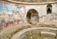 The Stabian Baths frigidarium