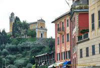 View of Chiesa San Giorgio on the hill